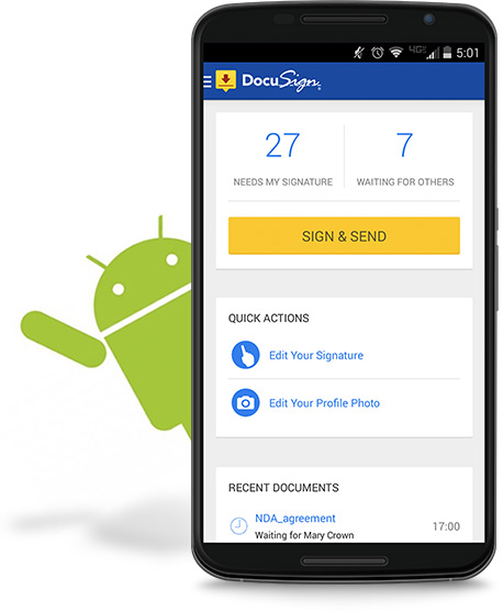 DocuSign for Android