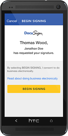 DocuSign Mobile SDK